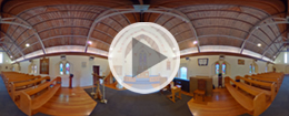 360 single image spherical photography - St John's Anglican Church, Ballan